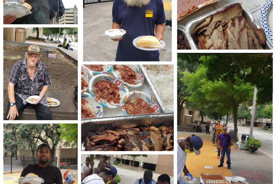 feeding houston homeless